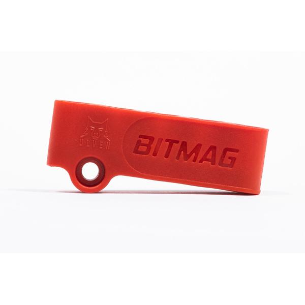 Magnetický držiak 5-bitov BITMAG™ plastový červený