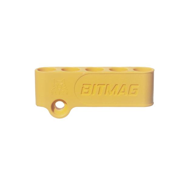 Magnetický držiak 5-bitov BITMAG™ plastový žltý