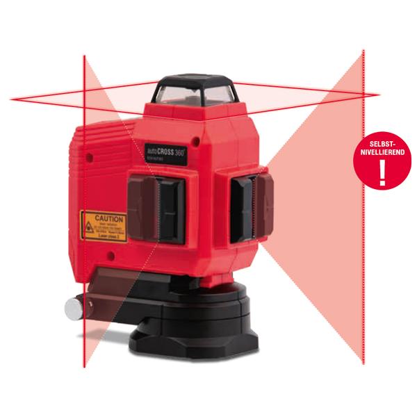Stavebný samonivelačný laser autoCROSS 360