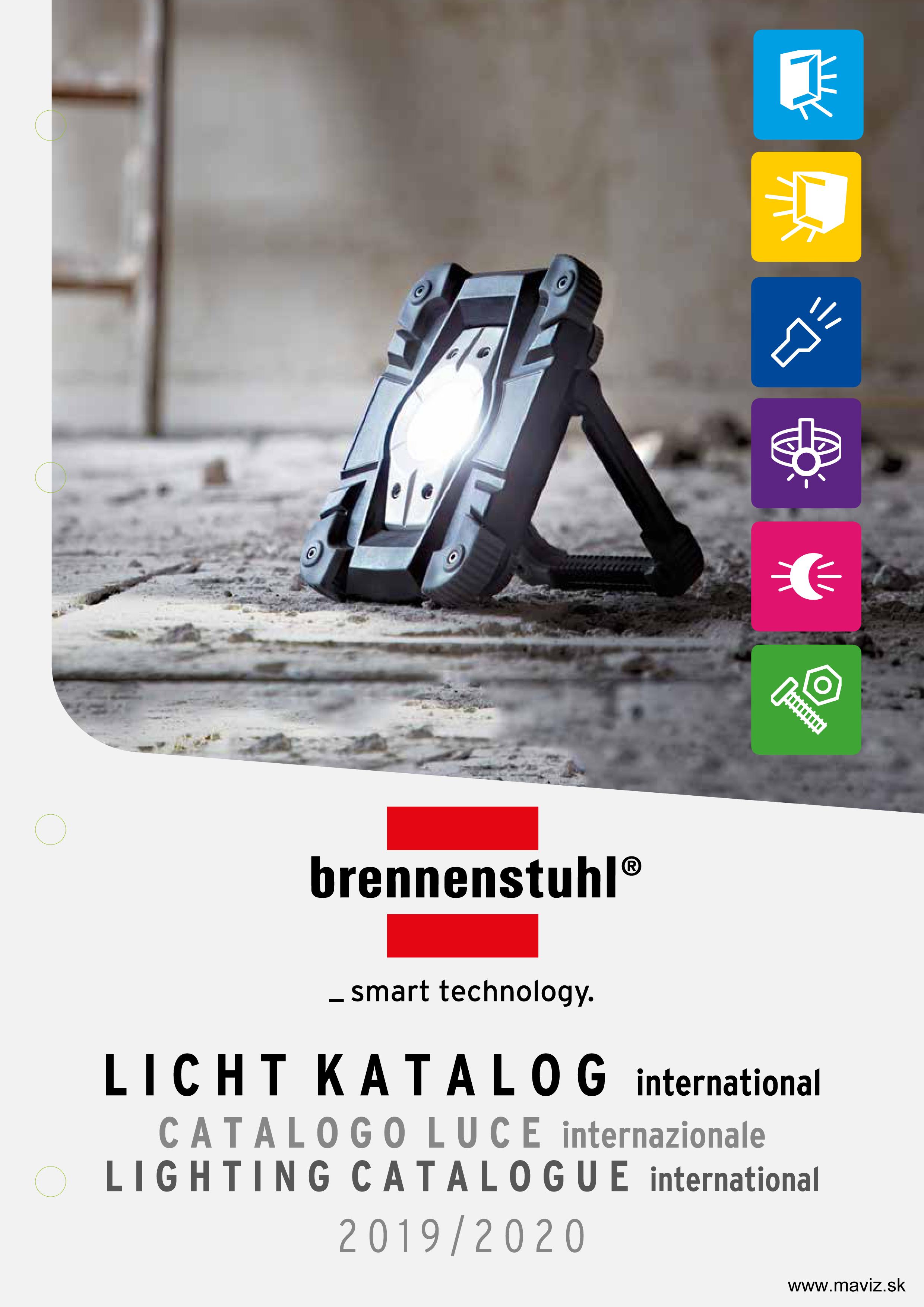 Katalóg svetlá BRENNENSTUHL 2020-2021
