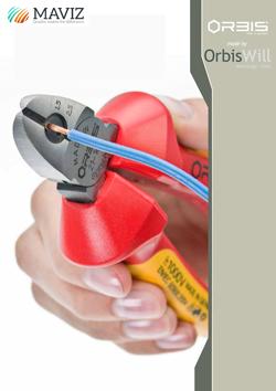 Elektrikárske bočné cvikacie kliešte s odizolovaním káblov