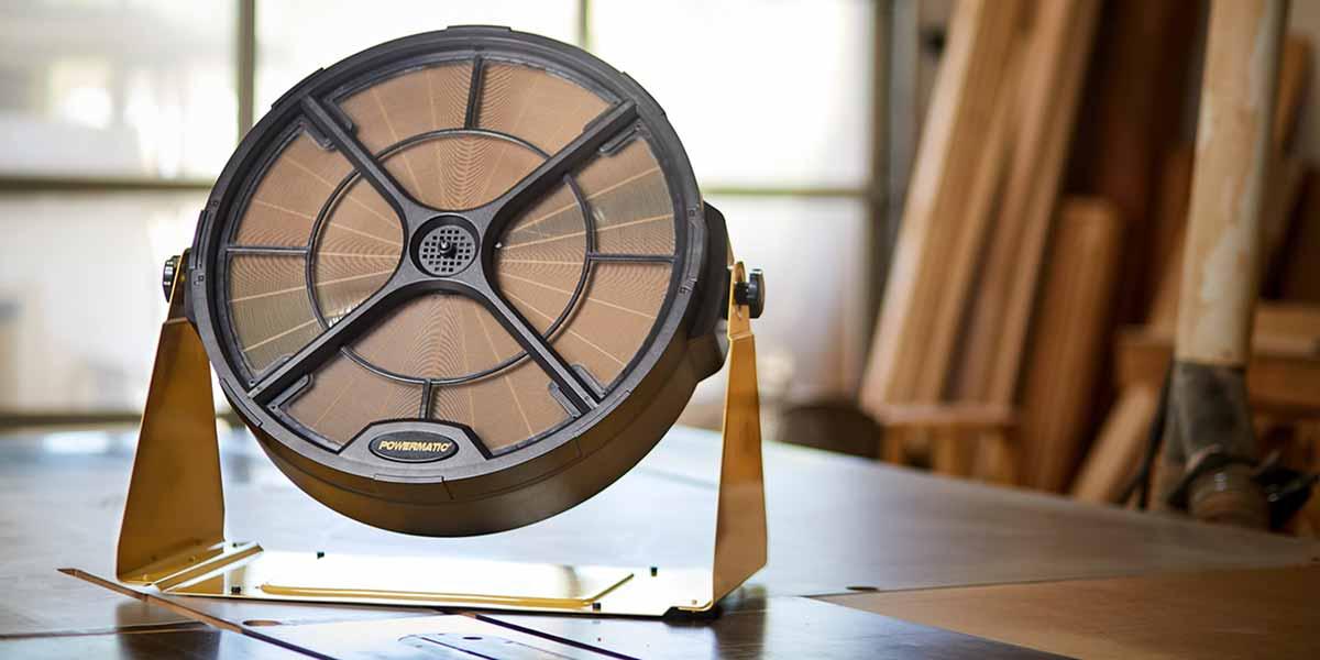 Powermatic prachový filter PM1250 / Systém filtrácie vzduchu