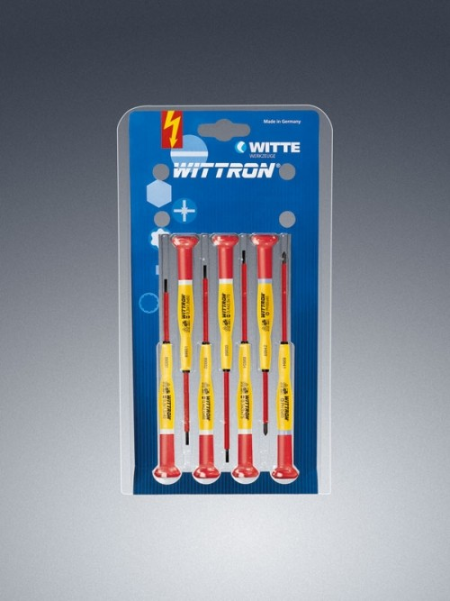 Sada skrutkovačov WITTRON VDE 7-dielna 89378 blister