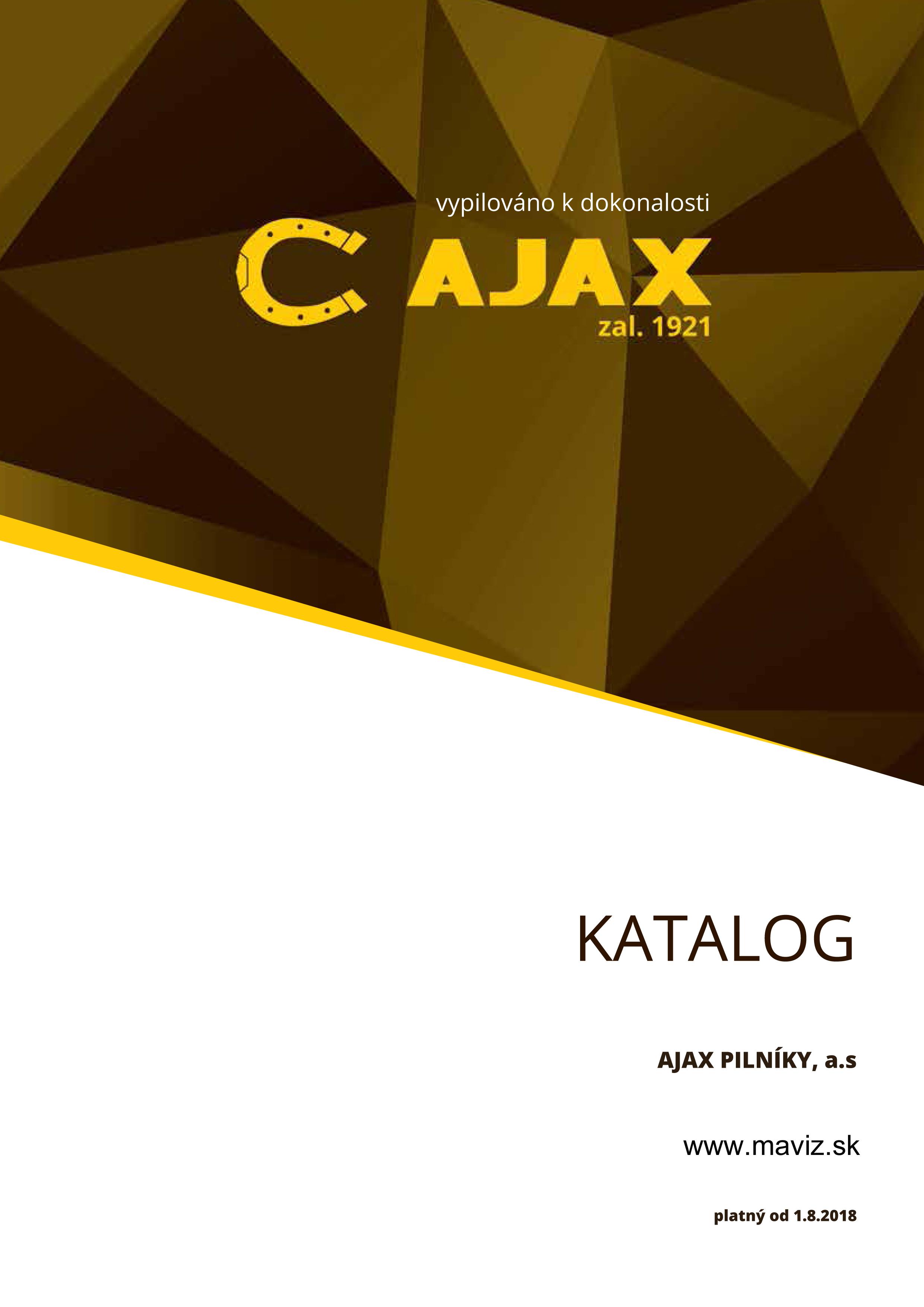 Katalóg AJAX