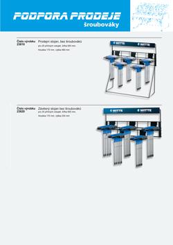 Atraktívna podpora predaja pri programe skrutkovačov T-HANDLE