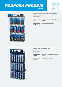 Atraktívna podpora predaja pri programe bitov značky WITTE